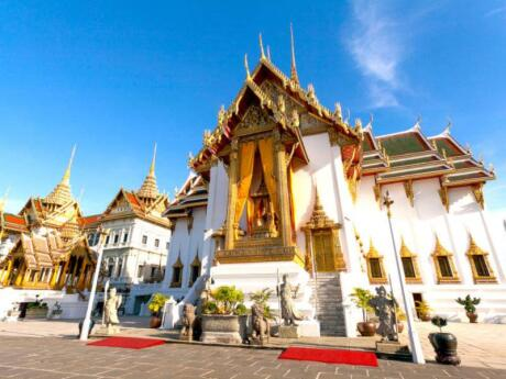 The Grand Palace in Bangkok is a stunning sight that you must visit while in the city