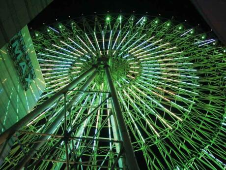 Head to Miramar in Taipei for lots of excellent shopping and a romantic ride in the giant Ferris Wheel at night