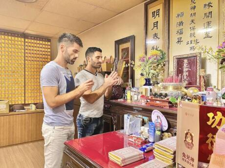 Taiwan has it's own rabbit god in charge of homosexual love, and you can visit the temple dedicated to him in Taipei!