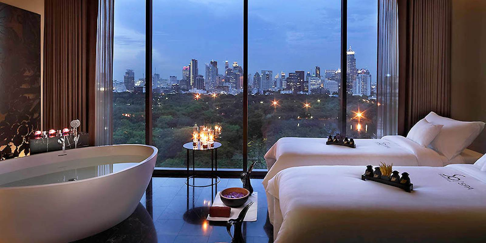 The SO/ Bangkok hotel has some of the most incredible views in Bangkok and luxurious rooms