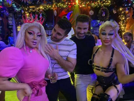 If you like drag queens then you will love the Stranger Bar on Bangkok's Silom Soi 4 gay street as it's known as the house of drag queens!