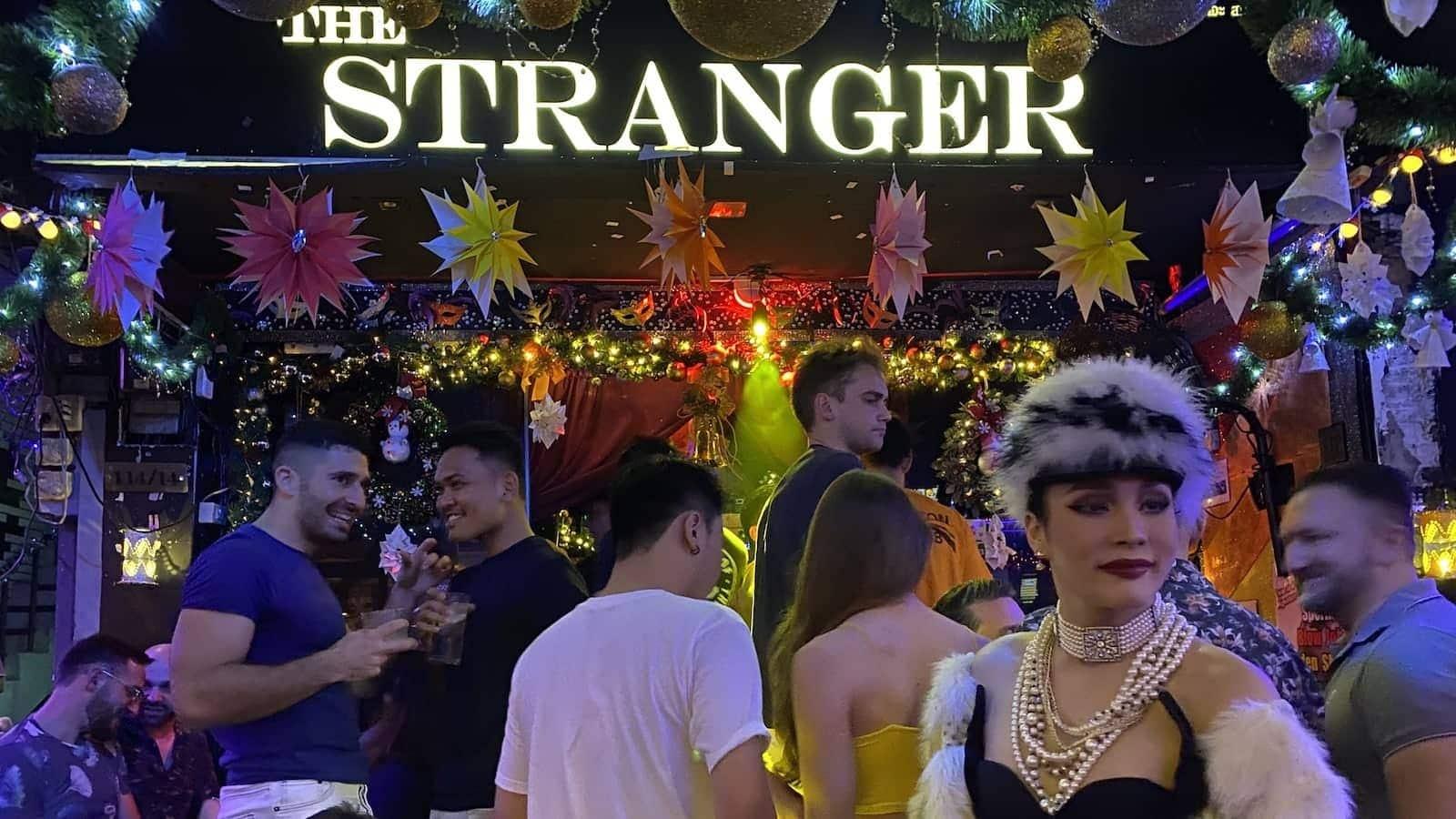 Stranger one of the best drag gay bars in Bangkok