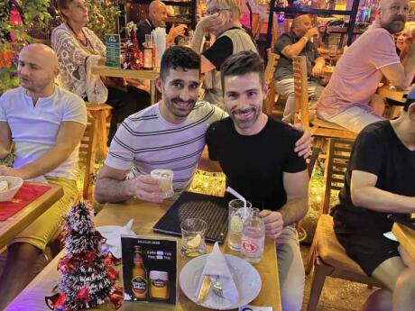 We love the Tapas Cafe in Bangkok's gay neighbourhood because they serve delicious and authentic Spanish cuisine!