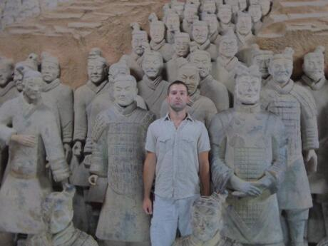 The Terracotta Army is the most famous sight in China's city of Xi'an and a must-visit