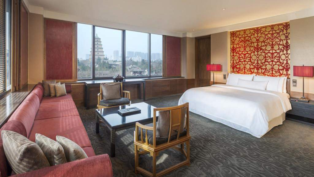 The Westin is a lovely 5-star hotel in Xi'an that's still very affordable