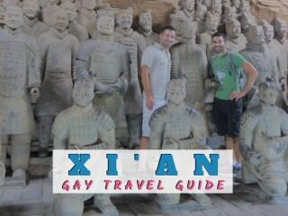 Our complete gay guide to the city of Xi'an in China, the base for visiting the famous Terracotta Army