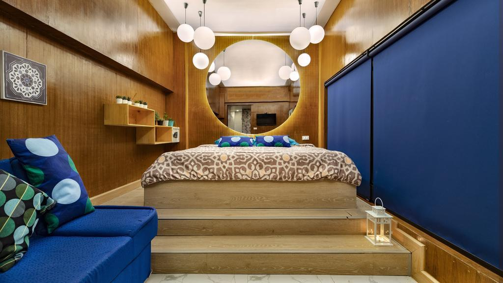 The Blu Cabin Gay Poshtel is a groovy hostel in Bangkok that's exclusively for gay travellers