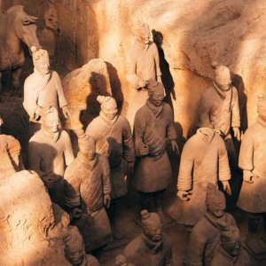 You have to see the Terracotta Army while you're in Xi'an, and the easiest way is via an informative tour