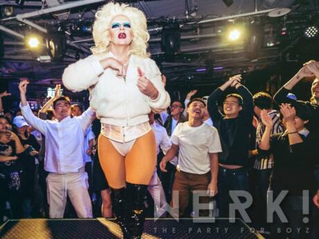 The Werk! parties at Triangle feature fabulous drag queens for a fun gay night out in Taipei