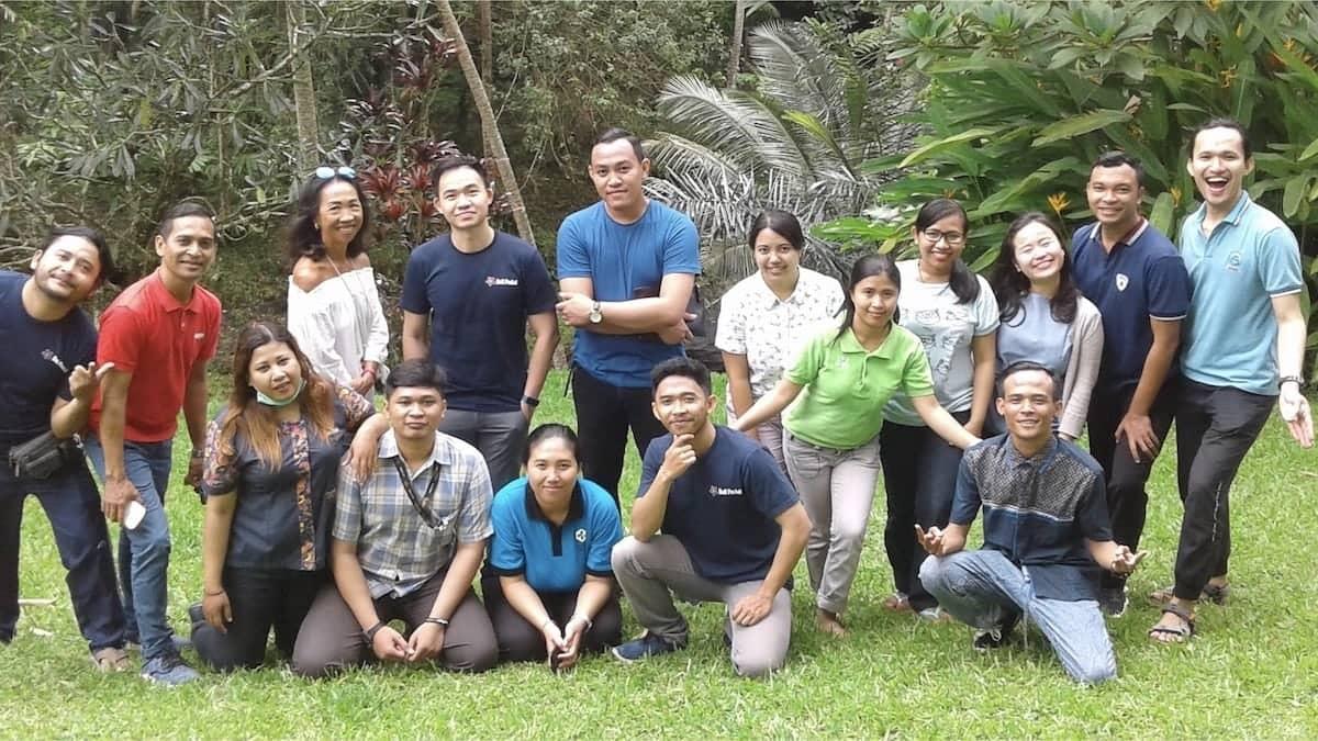The team of Bali Peduli NGO in Bali