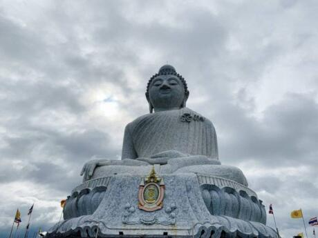 Visiting Phuket's Big Buddha statue is a must, if only for the views of the island once you're there