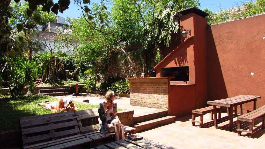 Buenas Vibras Hostel is the best choice of budget accommodation for gay travellers to Montevideo