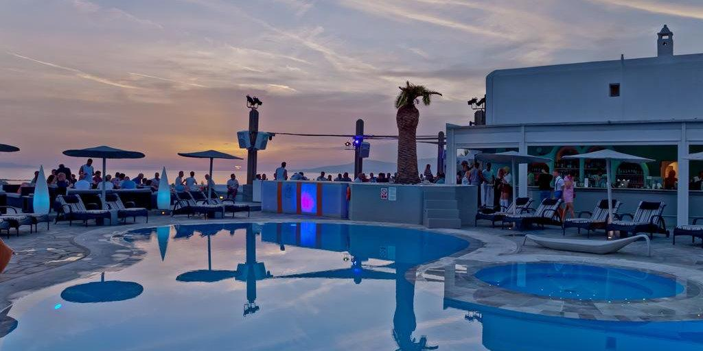 "Elysium is a ""straight-friendly"" gay hotel on Mykonos that hosts the best gay drag shows!"