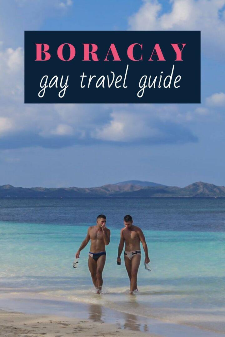 Pin our gay travel guide to Boracay by Nomadic Boys