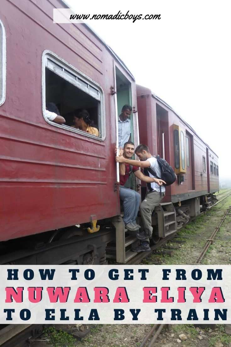 Everything you need to know about getting the train in Sri Lanka from Nuwara Eliya to Ella
