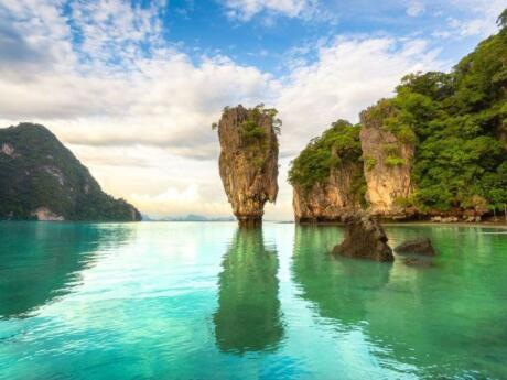 Visiting James Bond Island (made famous by appearing in The Man with the Golden Gun) is a must-do for gay travellers to Phuket