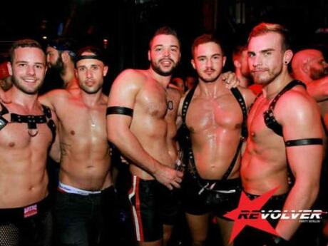 KitKatClub in Berlin is one of the most famous fetish clubs in the world and they hold a monthly gay party called Revolver