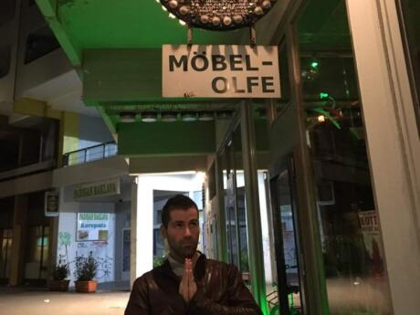 Mobel Olfe is a gay bar in Berlin's Kreuzberg neighbourhood which attracts lots of HOT guys!