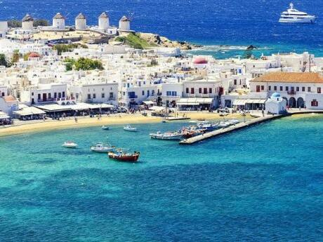 Explore the main sights of Mykonos town or get a taste of the gay nightlife on a gay tour