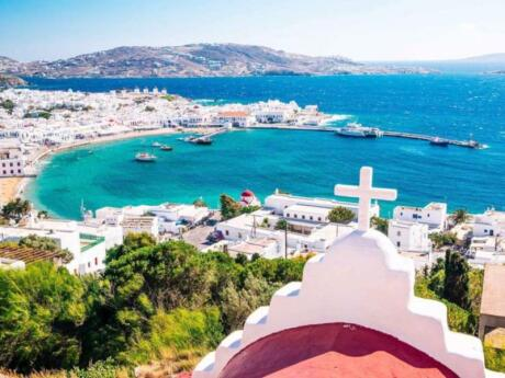 Join a tour to different parts of the island to get a feel for real life on Mykonos