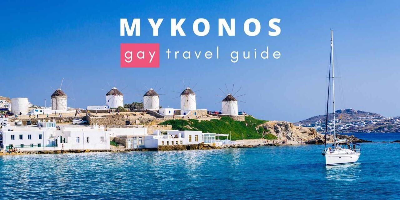 Here's our gay guide to the fabulous Greek island of Mykonos including the best gay hotels, bars, clubs and more
