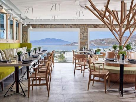 Noa is a gay friendly restaurant on Mykonos that serves delicious and authentic Greek cuisine
