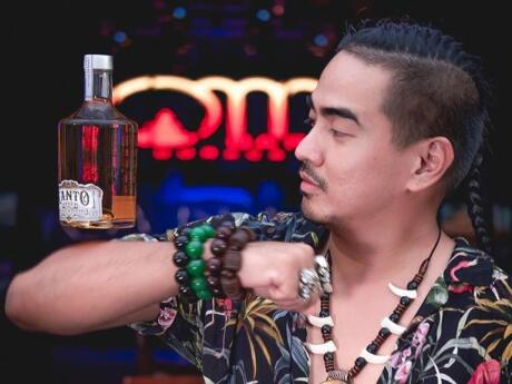 Om bar on Boracay is a cool gay friendly bar to party with great music