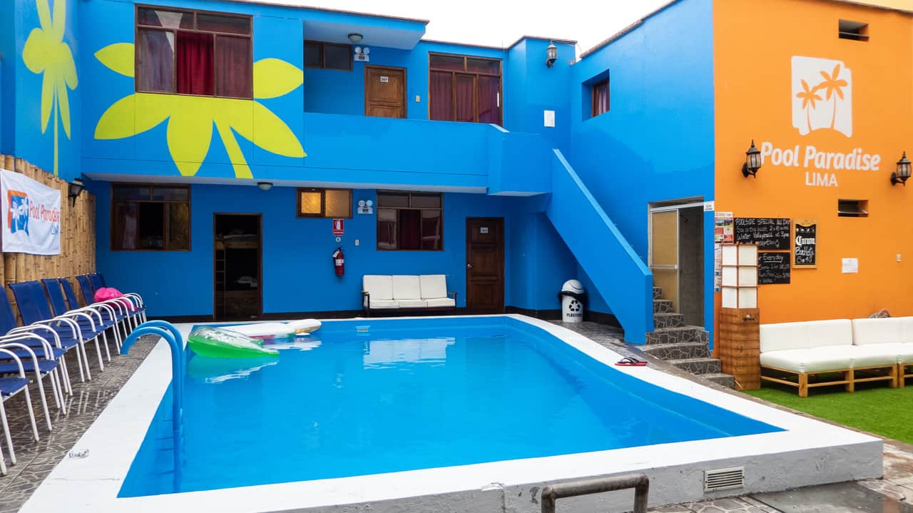 Pool paradaise is a great hostel for gay travellers on a budget