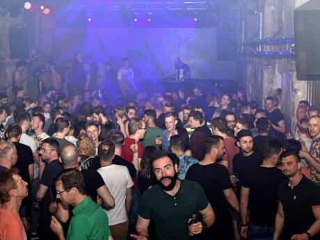 Schwuz is one of the oldest gay clubs in the whole of Germany and has three awesome dance rooms on the weekends