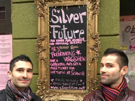 Silver Future is an alternative gay bar in Berlin's Neukolln neighbourhood that attracts a diverse LGBTQI crowd