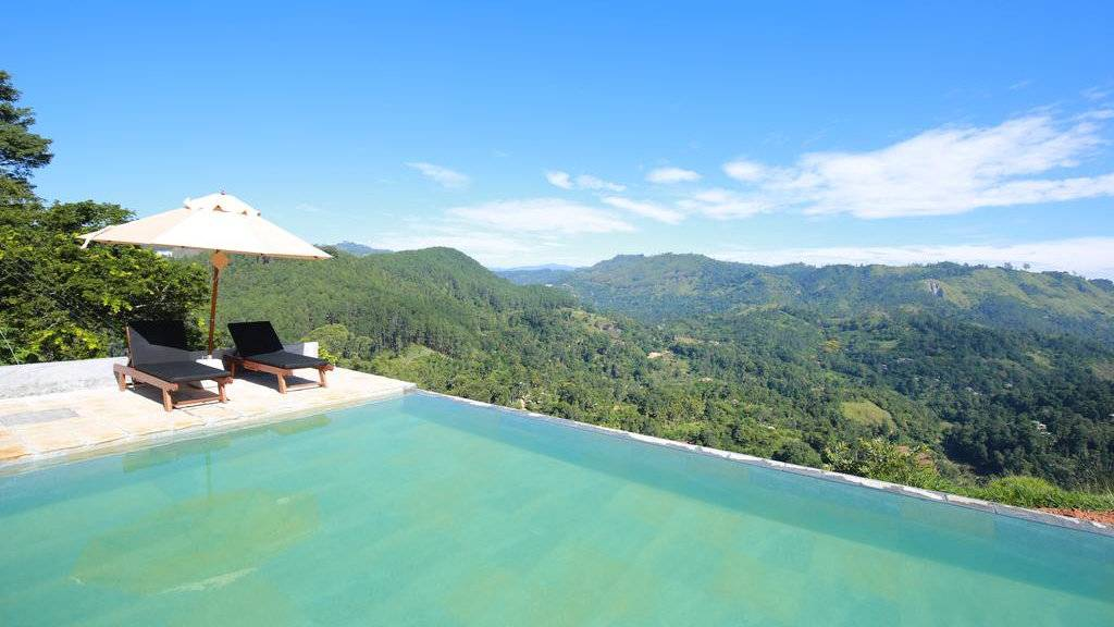 The Secret Ella is one of our favourite places to stay in Ella, with an amazing infinity pool!