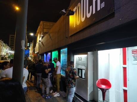 Touch UIO gay club in Quito