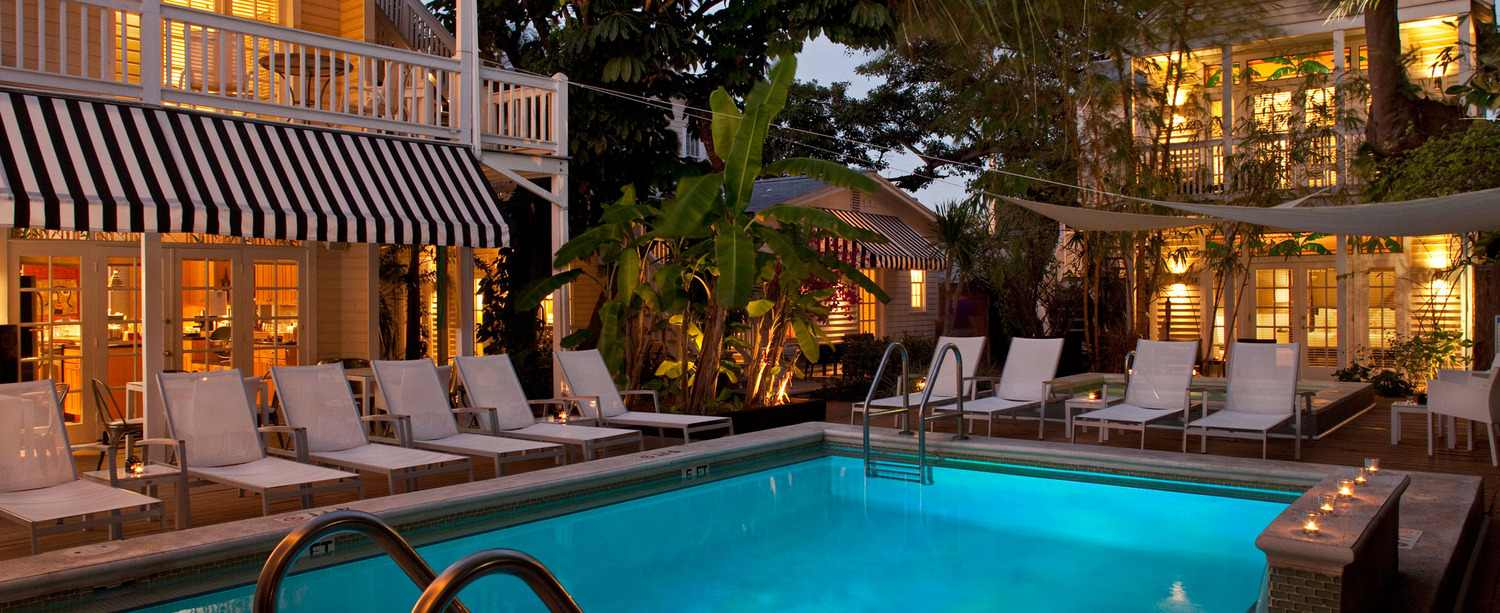 Alexander's Guesthouse is a clothing-optional gay guesthouse in Key West open to all kind of fun, with a mix of gay men and women