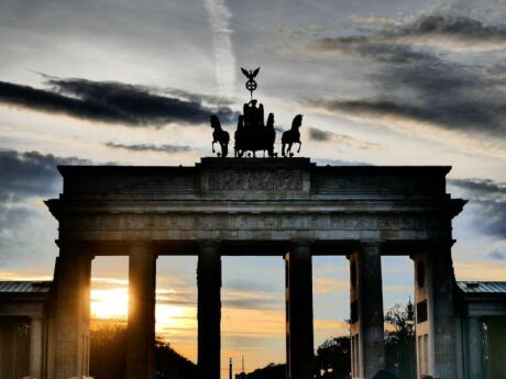 The Brandenburg Gate is a symbol of Berlin and a stunning monument to see in real life