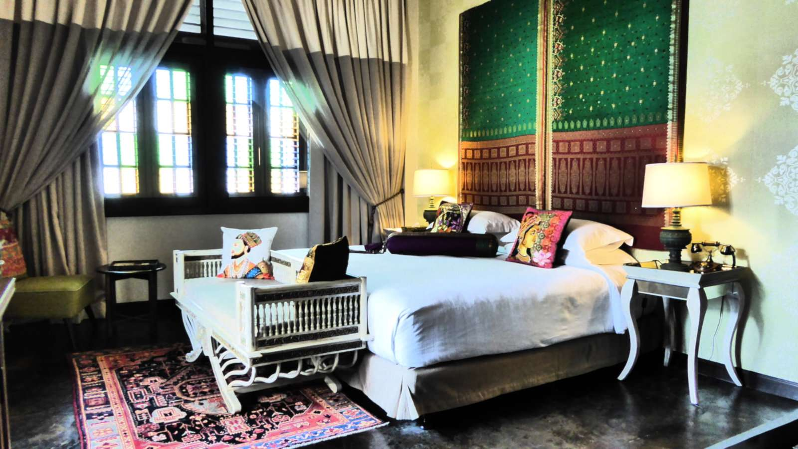 Campbell House is a super romantic and gay friendly spot for couples to stay in Penang if they feel like being spoiled