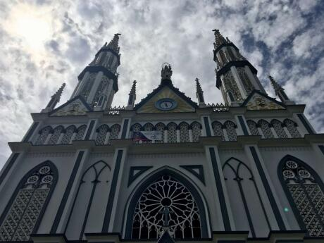 Church in Casco Viejo in Panama city one of the best things to do for LGBTQ travellers in Panama city