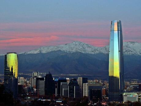Costanera tower is an attraction to miss whilst in Santiago chile for LGBTQ travellers