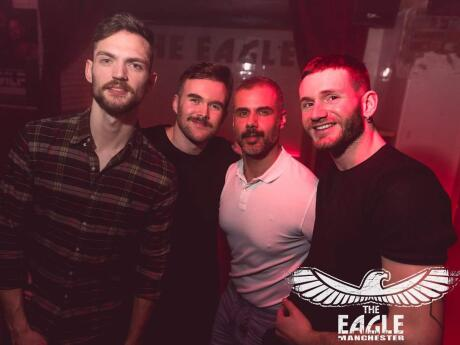 Eagle is a fun men-only gay club in Manchester which has fun themed nights