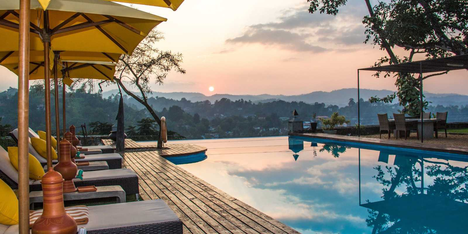 Elephant stables is  a romantic boutique hotel in Kandy, with a great view over the valley