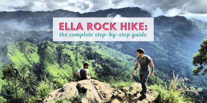 Here's our step-by-step guide for you to hike to Ella Rock in Sri Lanka without need of a guide