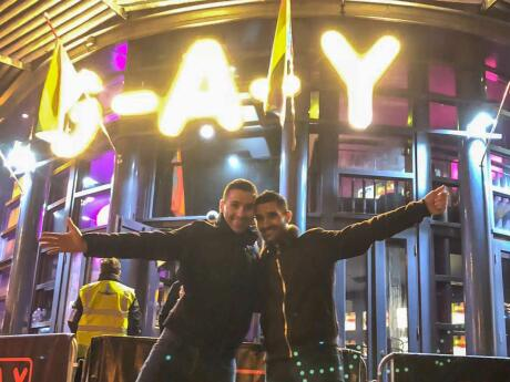 We always have a fun night out at GAY gay club in Manchester dancing to their cheesy pop hits!