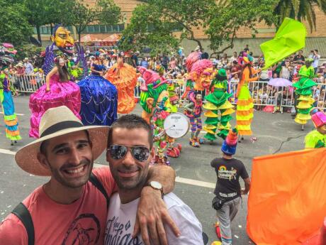 Flower Festival in medellin is the most famous festival in Colombia and gay friendly
