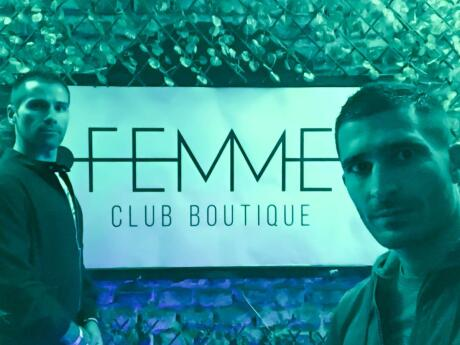 Toby gay party in Santiago at club femme