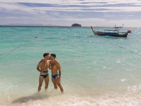 Koh Lipe is our favourite gay friendly island to visit in Thailand for romantic time