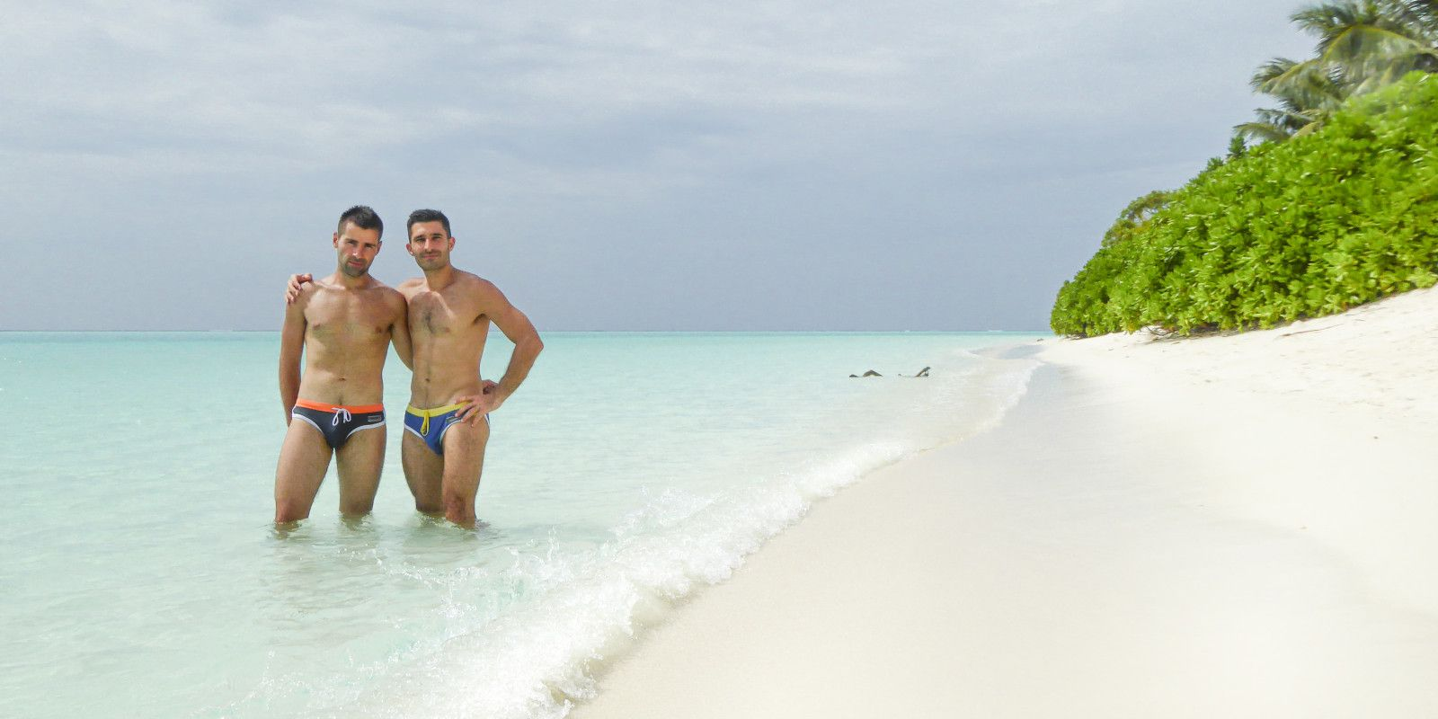 The Maldives is a popular destination for gay honeymooners and LGBTQ travellers