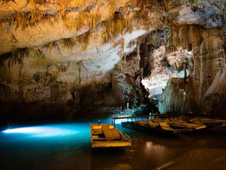 Jeita Grotto is a fascinating series of caves and underground river that's an easy day trip from Beirut