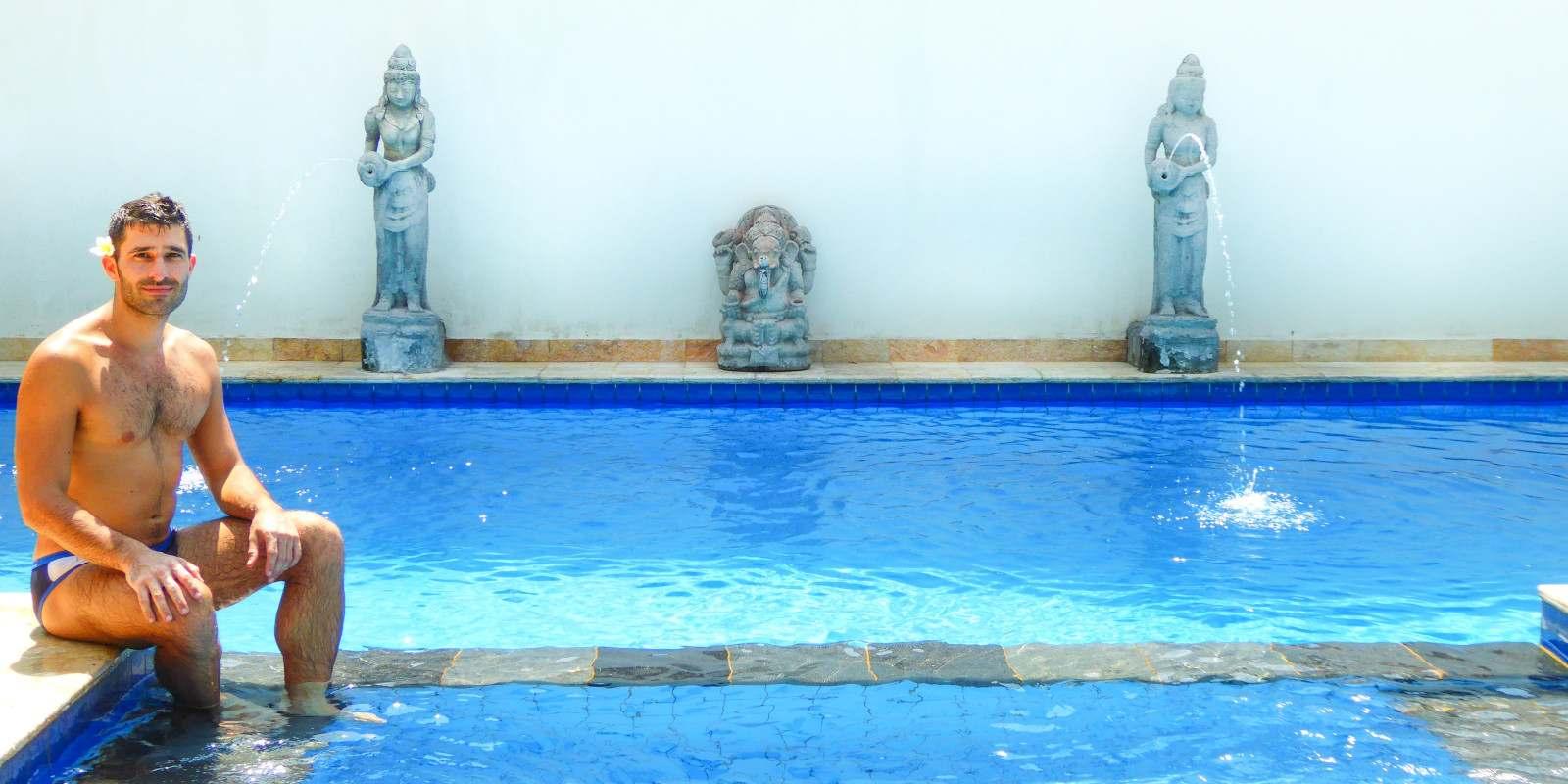 O hotel Martas é um dos nossos alojamentos gay friendly favoritos nas ilhas gili