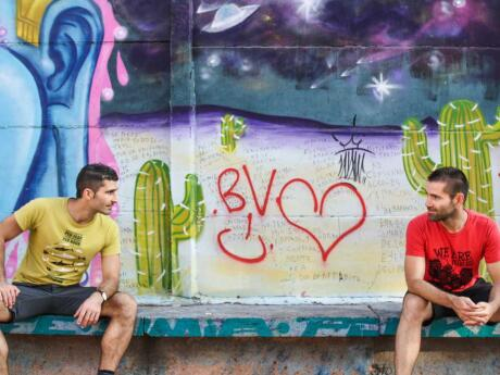 The beautiful street art of Bellavista in Santiago Nomadic Boys