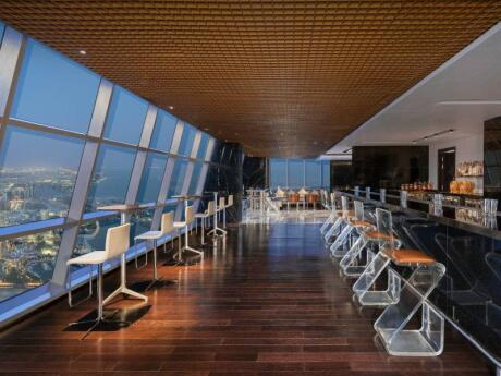 We love visiting Ray's Bar for their delicious cocktails and the stunning views over the city
