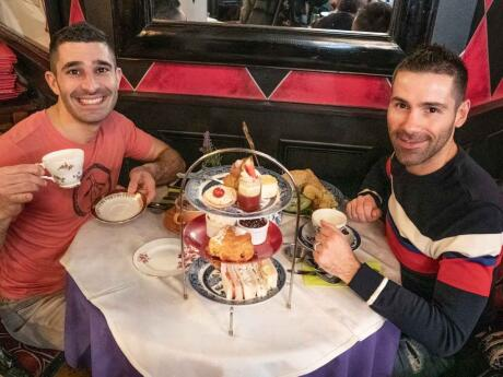 The Richmond Tea Rooms in Manchester is the perfect spot for some gay high tea